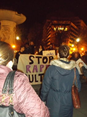 D.C. Protests Against 'Legalize Rape' Event