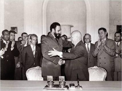 Castro with Khrushchev