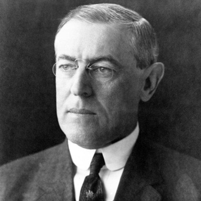 U.S. President Woodrow Wilson