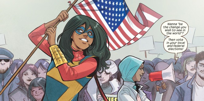 MsMarvel Marvel's Problem with Diversity